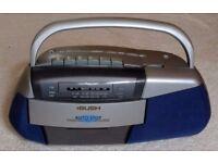 Bush mono radio/cassette - LW/MW/FM - good condition