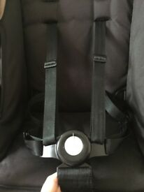 Silver cross wayfarer pushchair and carry cot