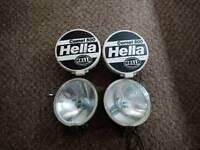 Hella comet spotlights x4