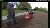 Fast and Friendly rototilling, aerating or detatching