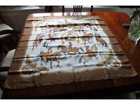 Genuine Hermes Silk Headscarf 90cm square