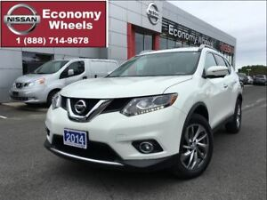 2014 Nissan Rogue SL / ONE OWNER / SUNROOF / LEATHER