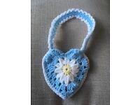 Child's crochet bag
