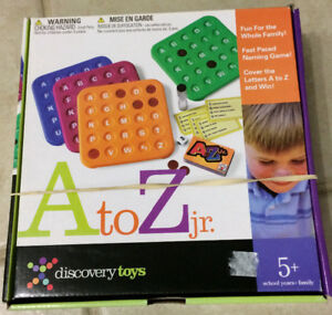 A to Z Discovery Toys Game