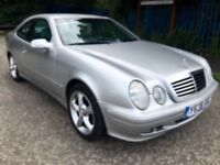 MERCEDES CLK COUPE AUTO STUNNING FULL MOT CAN DELIVER