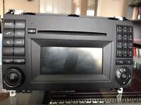MERCEDES A CLASS W169 - B CLASS W245 - HEAD UNIT RADIO CD COMAND 1698705494