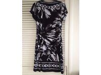 Beautiful black/white/grey dress from TKMaxx