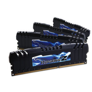 G.Skill RipJaws Z Series 16GB (4 x 4 GB) DDR3 2133 MHz CL9