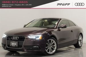 2014 Audi A5 2.0 8sp Tiptronic Technik Cpe