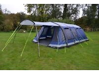 Outwell Montana 6sa air tent with extras