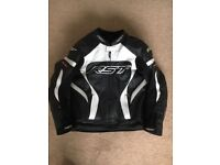 RST TRACTECH EVO LEATHER MOTORCYCLE JACKET