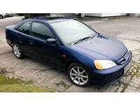 Honda Civic Coupe I-Vtec 2003 - only 56k with 12 month MOT
