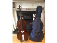 NEW CELLO Stentor Student 1 4/4 cello only £325.00 (rrp in excess of £550.00 plus vat)