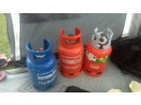 Calor gas bottles £10 each empty collect exeter
