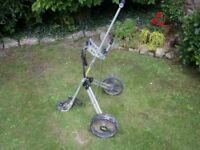 Solo sk200 two wheel pull golf trolley