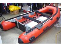PRICE DROP ! Heavy Duty 3.6 metres 5 persons Inflatable Boat inc New Yamaha 6HP 4 Stroke Outboard.