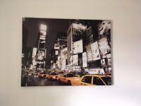 4 different canvas prints