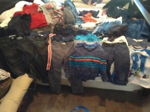 Huge lot of boys size 6 and 7 clothes!