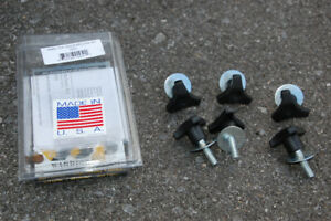 Quick-release bolts for Jeep Wrangler JK hard top (used)