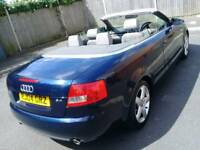 Audi A4 sports 2004 convertible full service history part exchange welcome recently service done