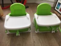 Booster seat and tray - excellent condition