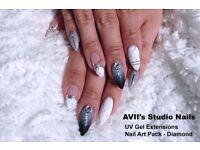 STUDIO Quality Nail Art (Fully Custom), UV Gel, Acrylics & Gel Polish Overlay