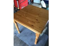 Pine kitchen Table . Good used condition .Ring/text or email for details .