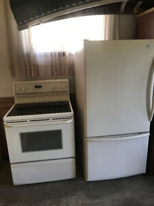 Fridge & Stove pair