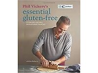 BRAND NEW - Phil Vickery's Essential Gluten - Free Recipe Book