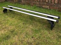 Exodus Roof Bars and Footpack for Car