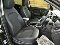 Hyundai ix35 1.7 CRDi Premium 5dr 2WD LOW MILEAGE SAT NAV PAN ROOF (phantom black metallic) 2011