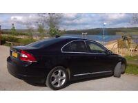 Volvo s80 2 litre diesel lux, 59 plate, metallic black, excellent condition.