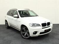 2010 60 BMW X5 3.0 XDRIVE30D M SPORT 5D AUTO 241 BHP DIESEL