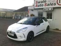 2012 CITROEN DS3 DSTYLE+ 1.6L - ONLY 29,452 MILES - FULL SERVICE HISTORY