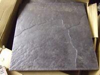 Small batch of floor tiles