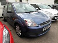 2006 56 Ford Fiesta 1.25 Style 5 Door Metallic Ocean Blue, Mot 25/09/2018