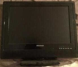 """Hisense 19"""" flat screen colour tv"""