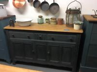Vintage sideboard cupboards and drawers