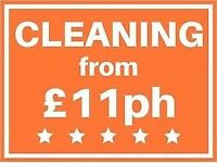 Cleaning 11£ hours