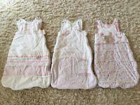 3 Baby Girl Sleeing Bags