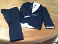 Black child's 3 piece suit