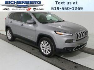 2016 Jeep Cherokee Limited 4X4 *NAV/PANO ROOF*