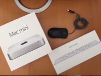 """Apple Mac mini Bundle, ASUS 25"""" Monitor & Magic Keyboard With Lightning Cable - A1347 Oct 2014"""