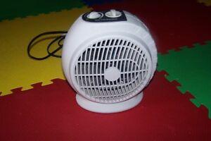 little  humidifier , fan heater, light