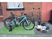 Couples Bikes inc. Helmets Locks Stands Lights + More