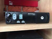 MOTOROLA CM140 25 WATT VHF MOBILE RADIO,may swap fm