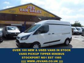 2014 14 FORD TRANSIT CUSTOM 2.2 290 LR P/V L.W.B HI ROOF NEW CUSTOM LONG WHEEL B