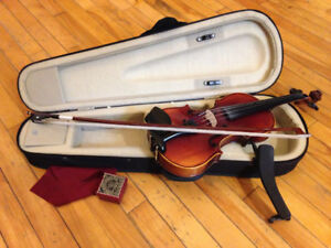 1/2 size violin excellent full size tone