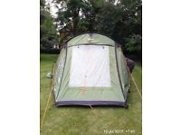 Vango Odessey 400 tent - used once excellent condition REDUCED FOR QUICK SALE