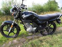 Yamaha YBR 125 injection model
